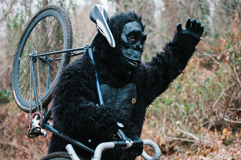 King Kong is in the wrong city... SSCXWC 2013. ©  Dominic Mercier