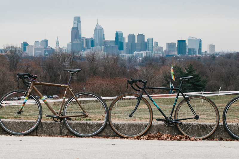 Overlooking Philly at SSCXWC 2013. ©  Dominic Mercier