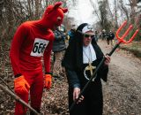 The Devil and a nun. At SSCXWC 2013. ©  Dominic Mercier