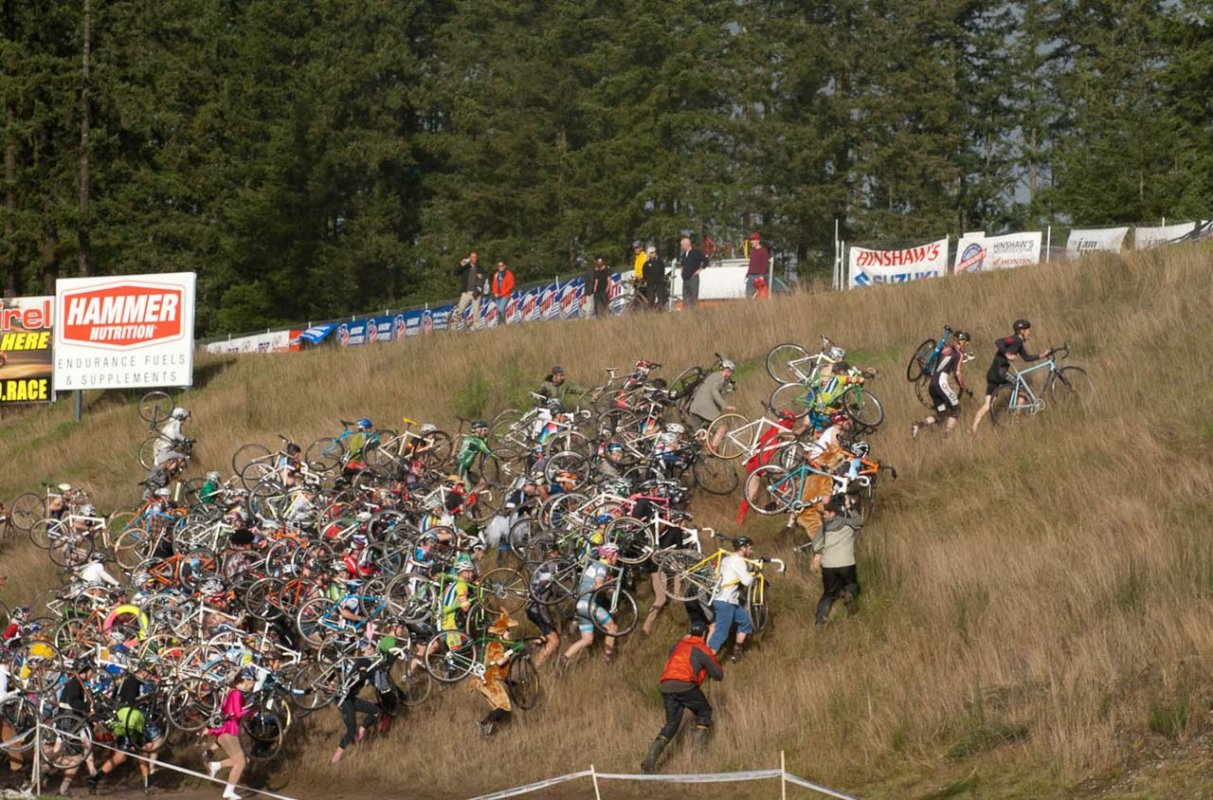 Mass runup at SSCXWC © Karen Johanson