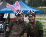 Two muddy girls who survived SSCXWC © Karen Johanson
