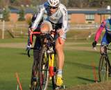Myerson leads the chase on the off-camber grass ? Natalia McKittrick | Pedal Power Photography | 2009
