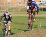 Timmerman balances the off-camber ? Natalia McKittrick | Pedal Power Photography | 2009