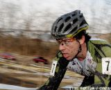 Travis Donn of Ethos Racing stays focused during the mens 35-39 race. ©Steve Anderson