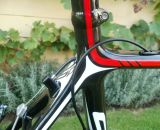 Ritchey Stubby (part of frame package – custom made for Stevens) as the seatpost. © Christine Vardaros