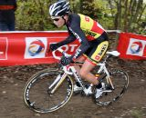Sanne Cant flying the Belgian national champion kit. ©Bart Hazen