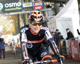 Sanne van Paassen wins the race in Asper-Gavere ©Bart Hazen