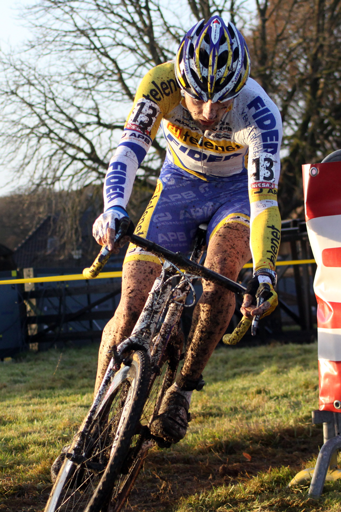 Rob Peeters animated the race early. © Bart Hazen