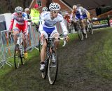 Lars Van Der Haar leads the U23 race. © Bart Hazen