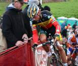 Sven Nys Comes over the Climb ?Dan Seaton