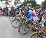 The start of the men's A race. Surf City Cyclocross Series Finale, Aptos High School, 1/10/10. ? Cyclocross Magazine