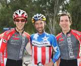 The podium pros. Surf City Cyclocross Series Finale, Aptos High School, 1/10/10. ? Cyclocross Magazine