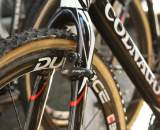 Nys relies on TRP Euro X Carbon brakes. ? Dan Seaton