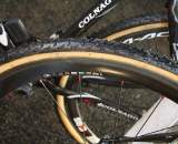 Nys runs C35 Dura Ace wheels, not yet available to consumers. ? Dan Seaton