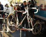 Nys' bike on display. ? Dan Seaton