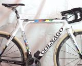 Sven Nys' Cross Vegas-winning Colnago Prestige cyclocross bike, Cross Vegas 2013. © Cyclocross Magazine