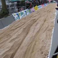 Tervuren-the sand was long and deep with a right hand turn at the end of it.