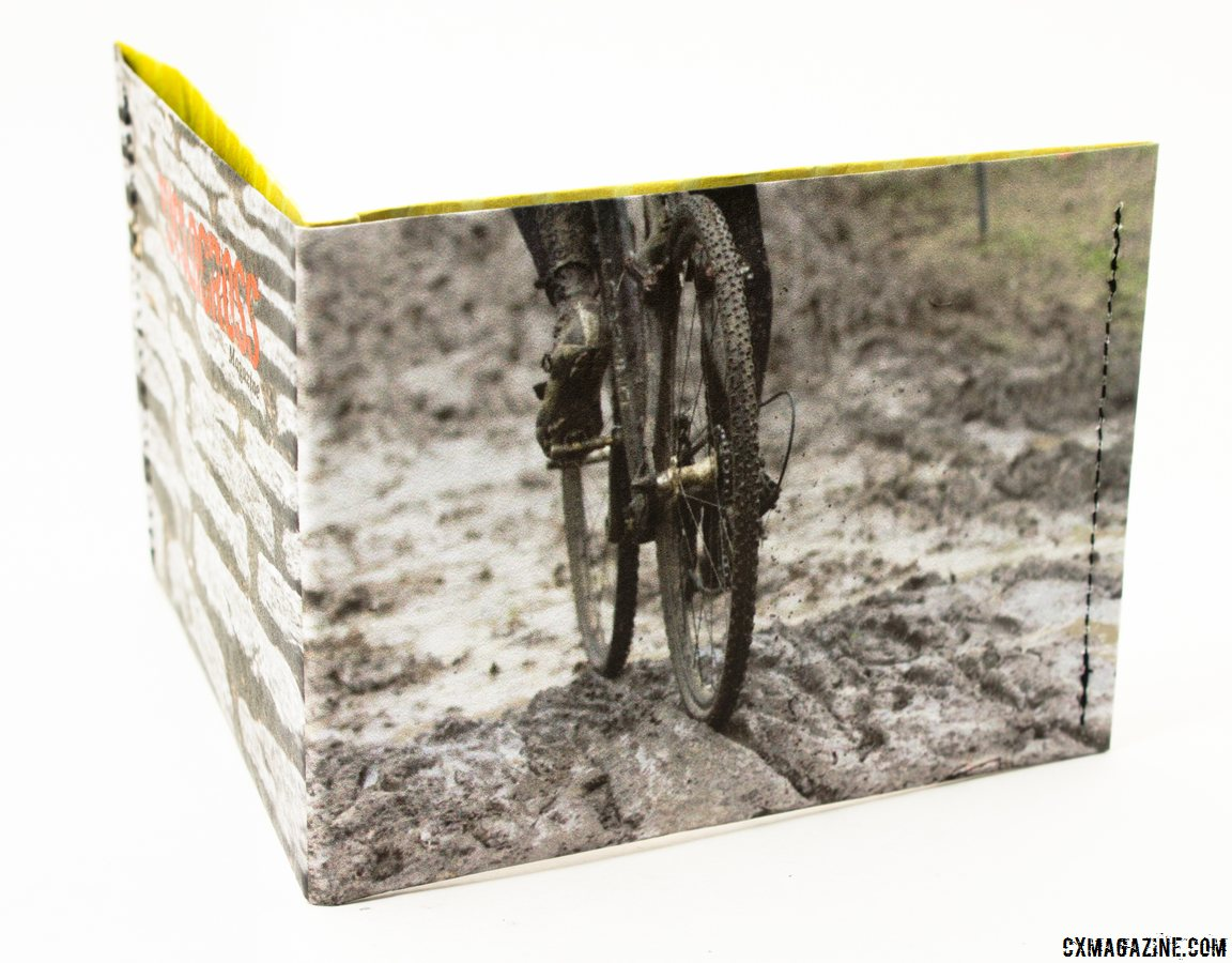 Show of your passion for mud: the ThinFolio Tyvek 11g wallet, made in California. © Cyclocross Magazine