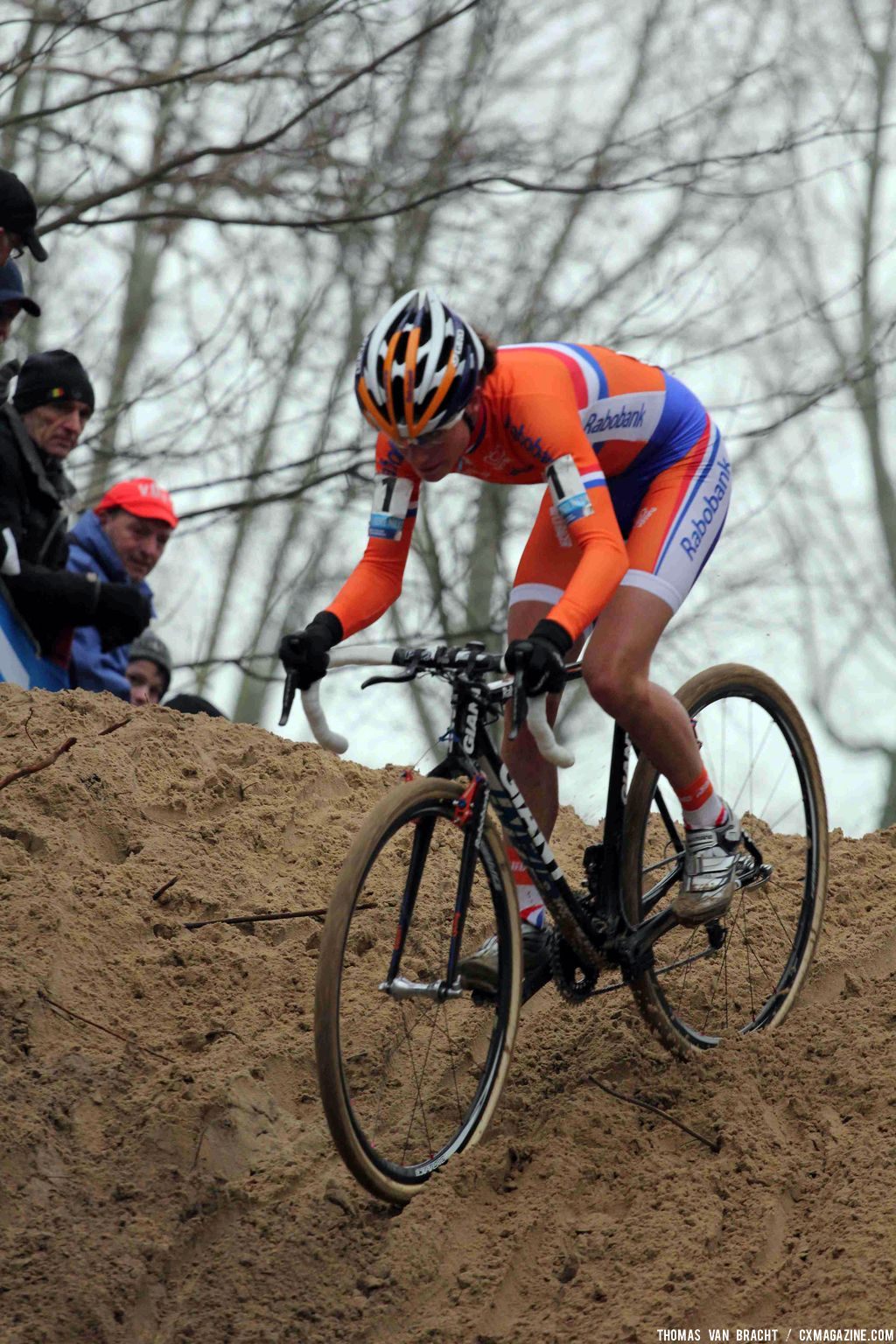 Marianne\'s Vos speed was unmatched. © Thomas Van Bracht