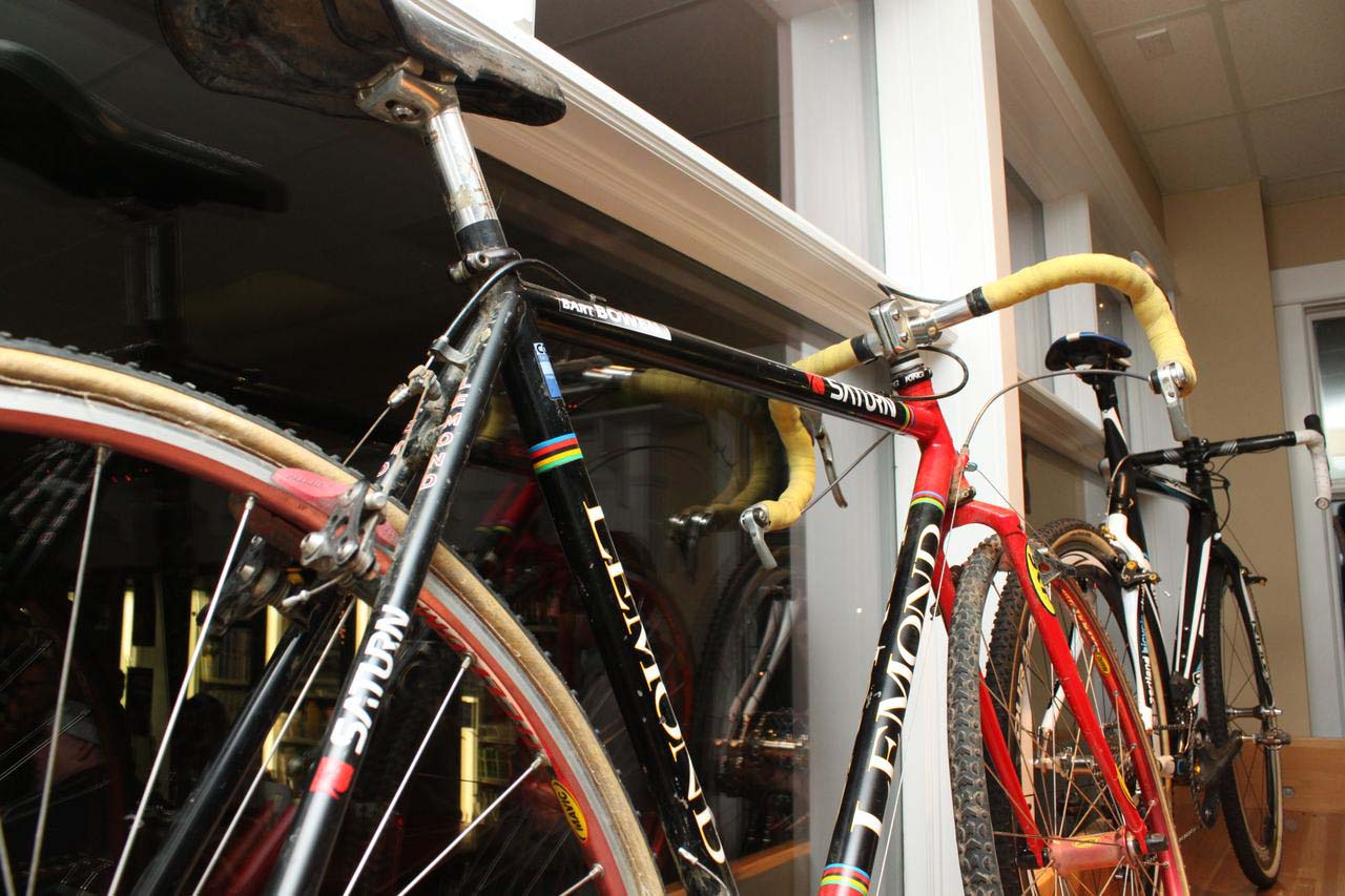 Bart Bowen\'s HotTubes-made Team Saturn Lemond cyclocross bike. ? Cyclocross Magazine