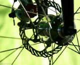 The Avid BB7 road disc brakes. ©Whit Bazemore
