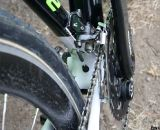 Front derailleur cable routing on the Super X prototype. ©Cyclocross Magazine