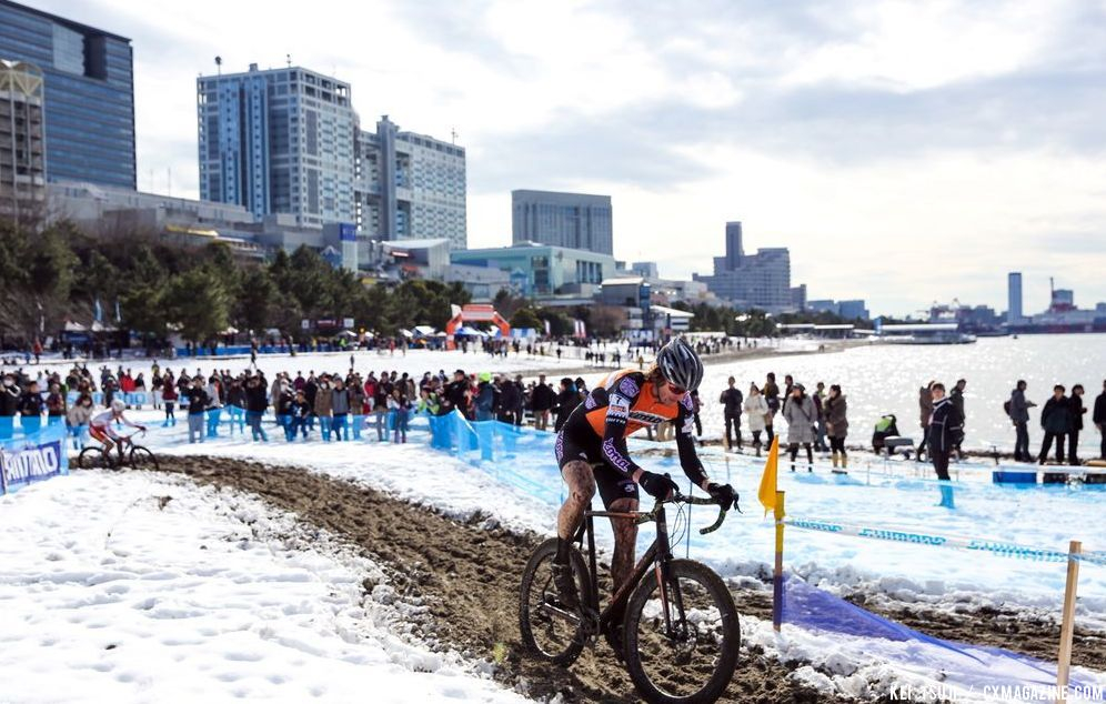Barry Wicks at Tokyo Cyclocross. © 辻啓/Kei TSUJI