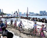 View of the city at Tokyo Cyclocross. © 辻啓/Kei TSUJI
