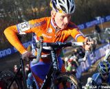 Mike Teunissen took control early and late in the race and would finish second. 2011 U23 Cyclcross World Championships
