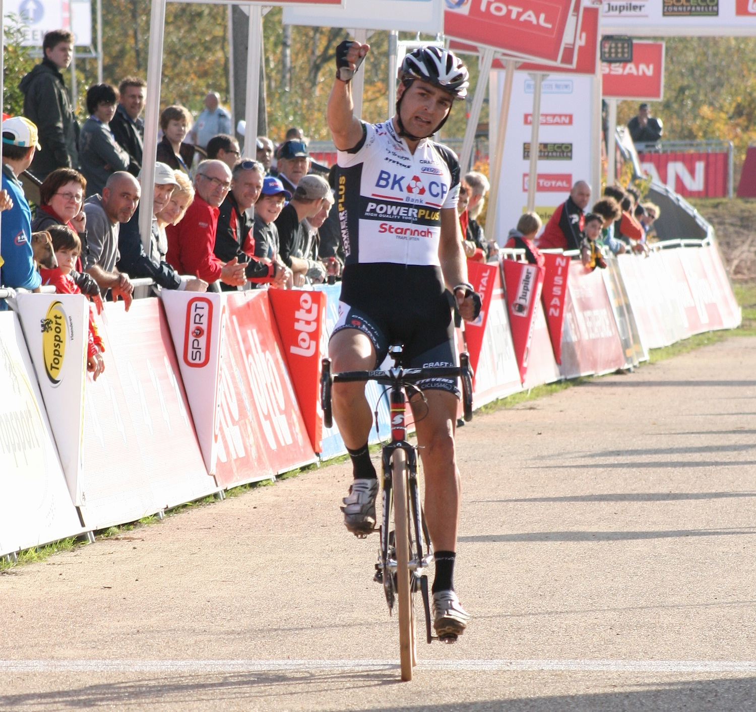 U23 Winner Wieste Bosmans at the finish©Greeg Germer