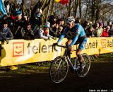 Sven Nys at the UCI World Championships of Cyclocross. © Thomas Van Bracht