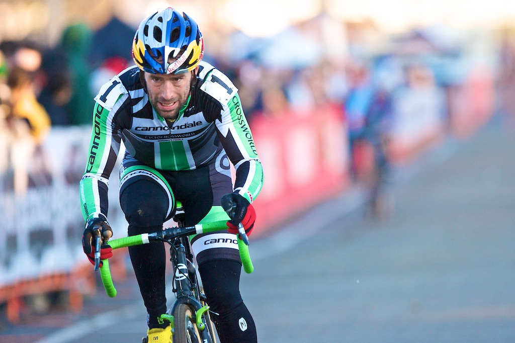 Tim Johnson of Cannondale/CyclocrossWorld had an off-day. ? Joe Sales