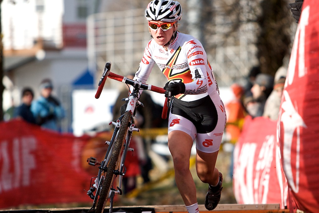 Amy Dombroski claimed a podium spot yet again. ? Joe Sales