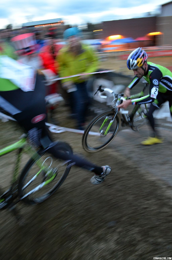 Hitting the last seconds of the race. © Cyclocross Magazine