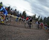 Anderson chases Nash. © Cyclocross Magazine