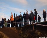 The single-speeders were the loudest hecklers on course. © Cyclocross Magazine