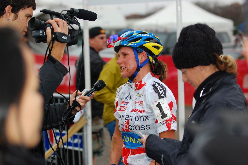 Nash talks about her win. ? Tom Olesnevich