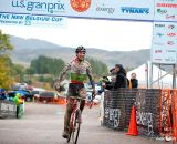 Yannick Eckmann (Pearlizumi/Shimano) takes the win in the U/23 on Day 1 of the USGP Fort Collins. © VeloVivid Cycling Photography