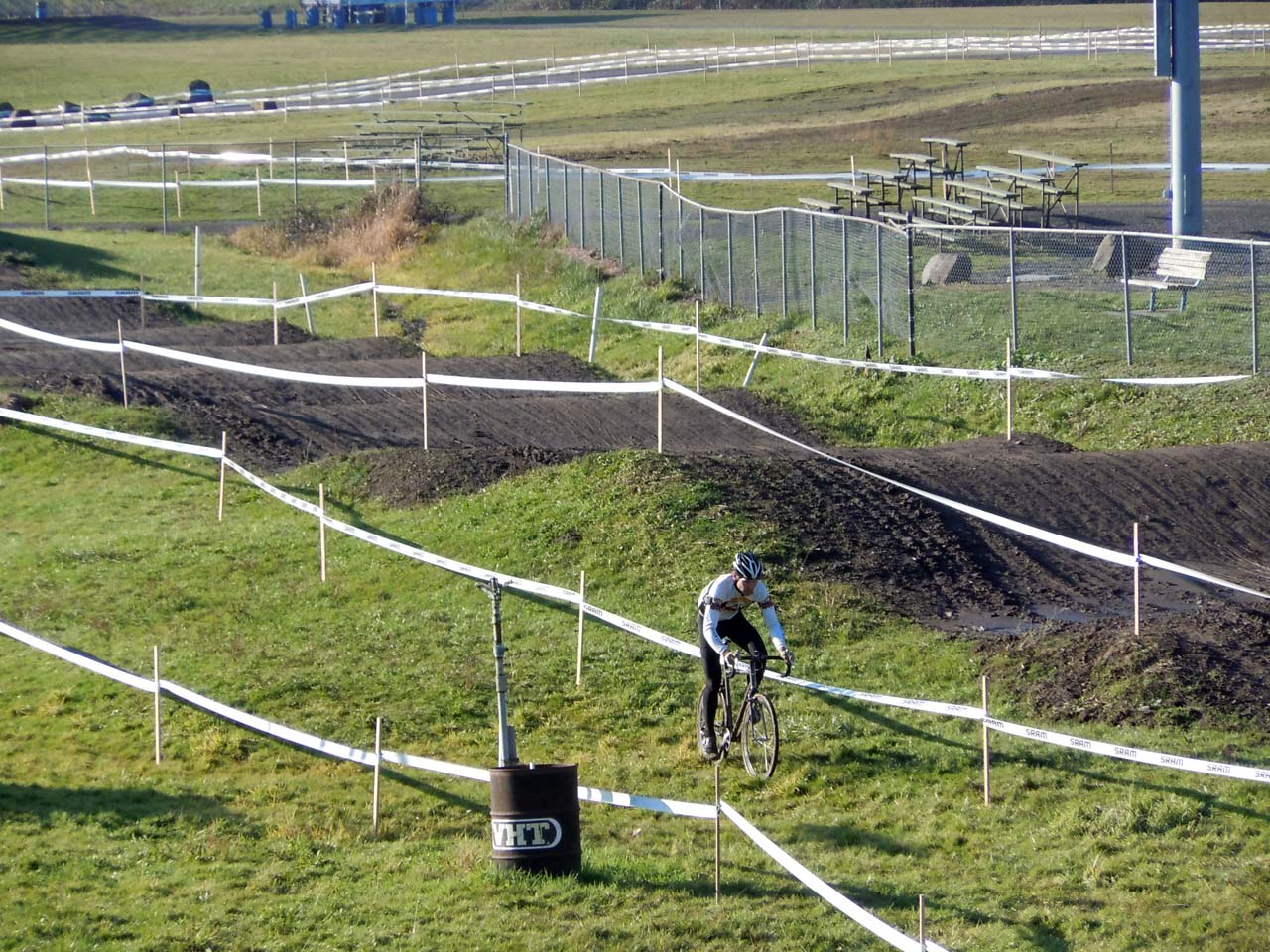 There's less of the motocross section, but more thick grass ©Josh Liberles