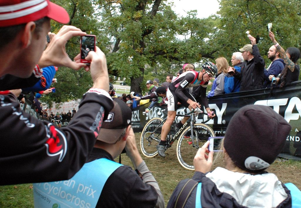 All eyes were on Jeremy Powers (Rapha Focus) Saturday at the USGP Planet Bike Cup at Sun Prairie Wisconsin. © Aaron Johnson