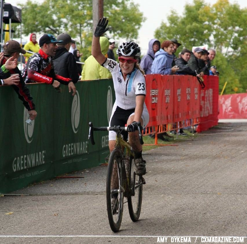 Chloe Forsman was the surprise of the day in fourth. © Amy Dykema
