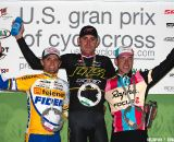 Trebon, Wellens and Powers on Day 1 of the 2011 USGP Planet Bike Cup in Sun Prairie. © VeloVivid Cycling Photography