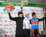 Elite men's podium © Josh Liberles