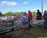 Compton over the barriers. © Cyclocross Magazine