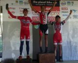 The U23 Podium  © Cyclocross Magazine