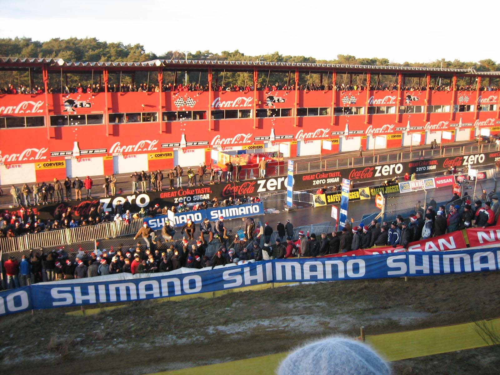 Zolder descent and layers of fans ? Christine Vardaros