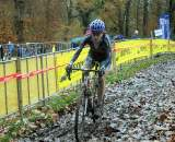 Christine rocking through the mud ? Hugo Spiegelaere