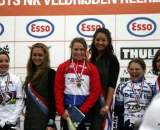 Holland Nationals 2010 Women's podium © Anton Vos