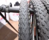 The Vee Rubber X-C-X tire will come in 700x35c and 700x40c, as well as 26 and 29 inch sizes. Interbike 2011. © Cyclocross Magazine
