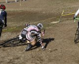 Natasha Elliott washed out on the first turn.